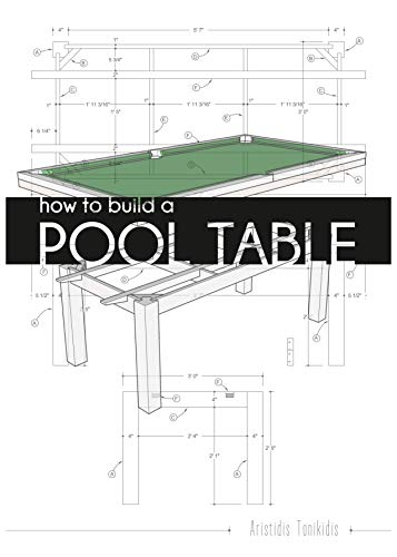 How to build a pool table: Detailed plans to build that table