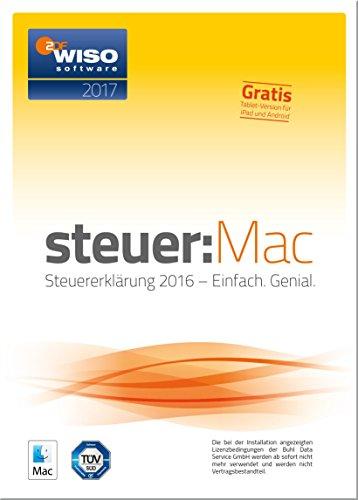 WISO steuer:Mac 2017 (für Steuerjahr 2016 / Frustfreie Verpackung)