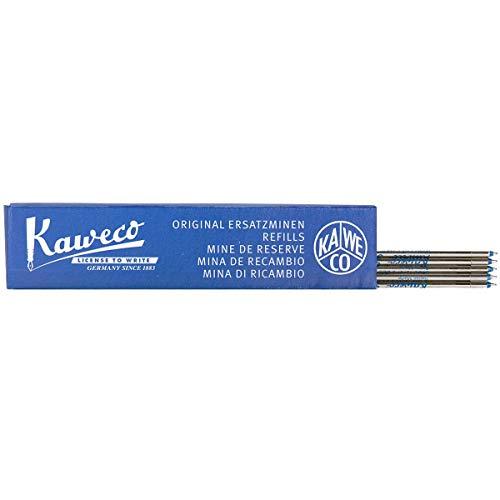 Kaweco D1 Kugelschreiber-Minen 1,2 blau 5 Stück I 5 pcs 1.2 Refill blue for Kaweco ball pen I Stift-Ersatzminen I Mine für Mehrfarb-Schreiber I verschiedene Strichstärken und Farben