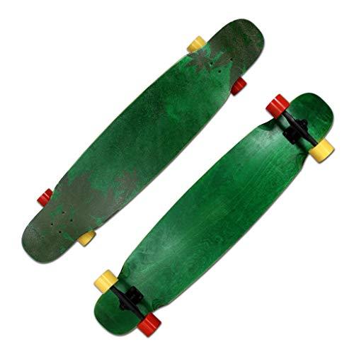 Buy Bargain Scooters Skateboard Professional Board Long Dance Board Unisex Dancing Brush Street Trav...