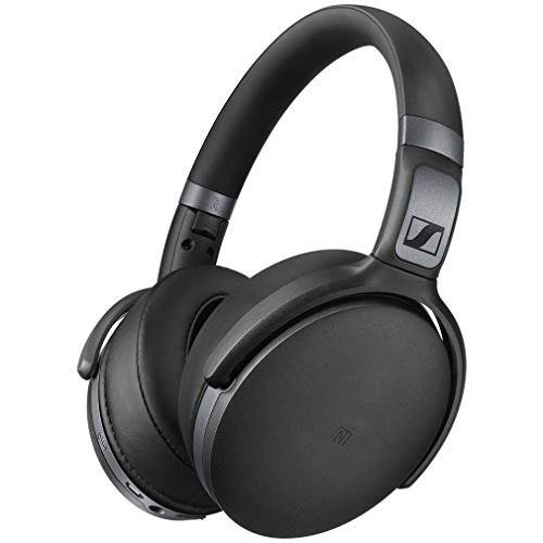 Sennheiser HD 4.40BT Cuffia Wireless, Microfonica con Bluetooth, 18- 22,000 Hz, Nero Opaco