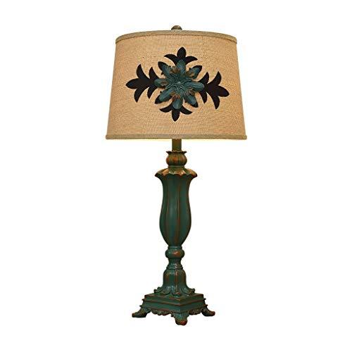 SPNEC De Estilo Europeo, lámpara de Mesa, Dormitorio de Noche Estudio de la Sala de Estar Creativa lámpara Decorativa