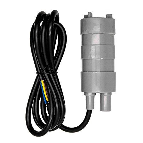 Cutito 12 V Tauchpumpe 840 l/h Hochdurchflusspumpen für Wohnmobil, Teich, Aquarium (grau)