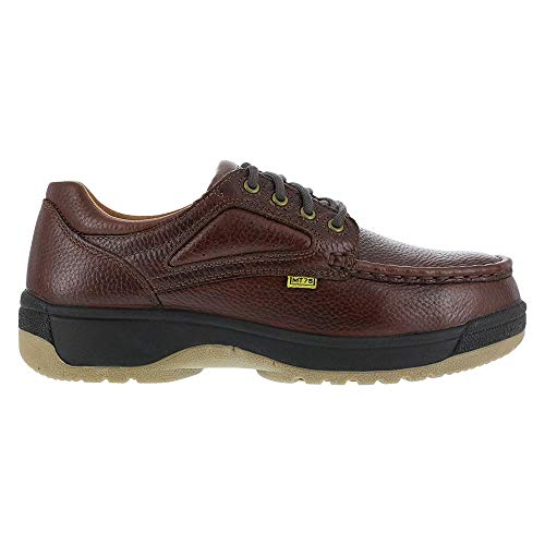 Florsheim Work Womens Compadre Slip Resistant Steel Toe Work Work Safety Shoes Casual - Brown - Size 6.5 3E