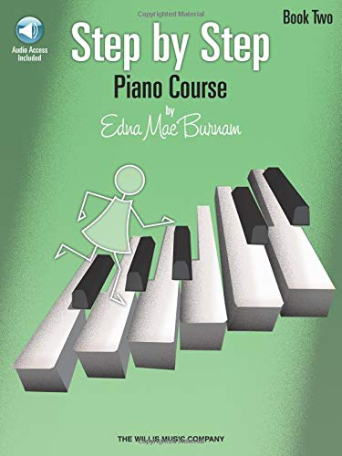 Step by Step Piano Course - Book 2. Für Klavier
