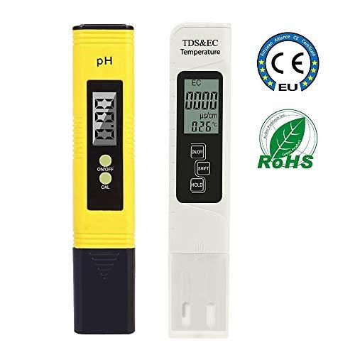 impermeabile Apera strumenti PH20 valore pH-metro ± 0.1 PH 0-14 Tester tasca