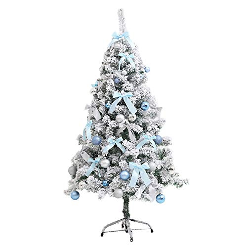 Gaoqi 60cm Christmas Ins Blue Flocking Cedar Christmas Tree Package