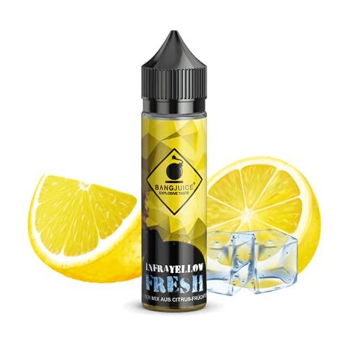 Bang Juice Aroma InfraYellow Fresh, Longfill Shake and Vape zum Mischen mit Base Liquid für e-Zigarette, e-liquids made in Germany, ohne Nikotin