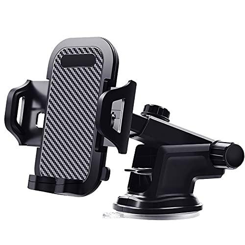WWMH Soporte Movil, con Rotación 360º Phone Holder Universal Teléfonos y Soporte movil Coche Compatible con iPhone 8 Plus X XS MAX XR Samsung S9+ S10+