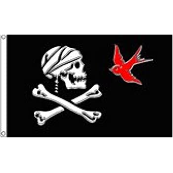 JACK SPARROW PIRATE PIRATES CARIBBEAN FLAG NEW 3x5ft better quality usa seller