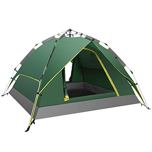 N / C Outdoor hydraulic tent, camping tent that can accommodate 3-4 people, can be opened in only 3 seconds, saving time and effort, strong and durable
