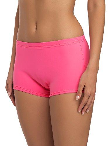 Merry Style Short de Bain Sport Vêtements d'Été Femme L23L1 (Rose (3159), 44)