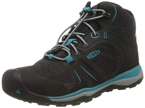 KEEN unisex child Terradora 2 Mid Wp Hiking Boot, Magnet/Bluebird, 10 Little Kid US