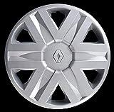 Desconocido Genérico - Tapacubos para Renault Scenic Uno (1) 5729/5 de 15 Pulgadas de diámetro