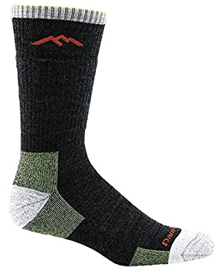 Darn Tough Vermont Men's Merino Wool Boot Cushion Hiking Socks (Lime, XX-Large)
