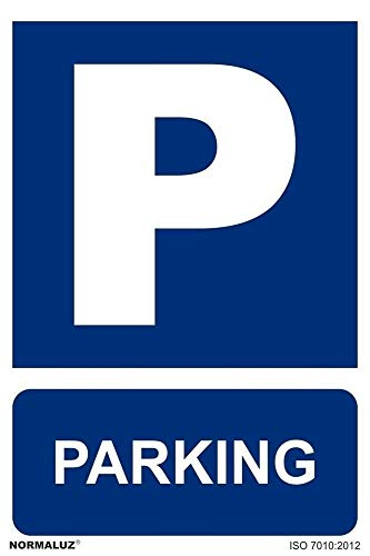 RD21048 - Señal Parking PVC Glasspack 0,7mm 30x40 cm con CTE, RIPCI Nueva Legislación