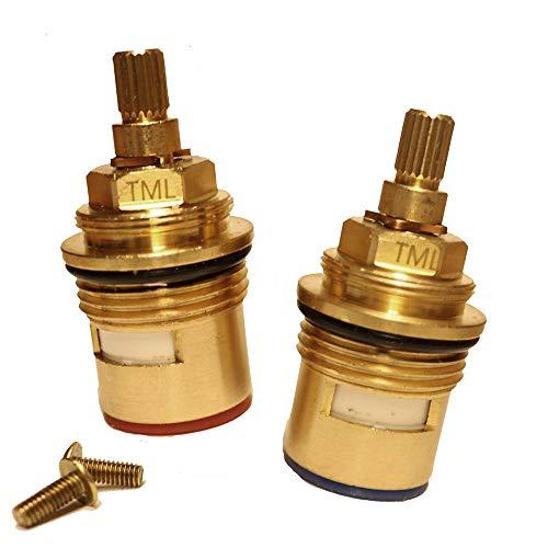 BS5412 L20 - Válvula de grifo de cerámica de baño compatible con...