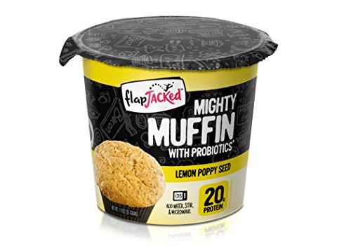 Mighty Muffin Lemon Poppy Seed