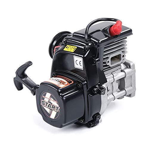 Bulokeliner Motor de gasolina de 45 cc con doble anillo de un solo cilindro de 2 tiempos, con carburador Walbro, bujía, motor Stirling, juguete educativo