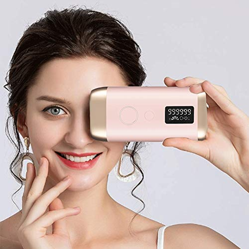 Permanent Laser Hair Removal for Women and Men, At-Home Painless Hair Remover Device for Armpits Face Arms Bikini Line Legs, Upgraded to 999,999 Flashes