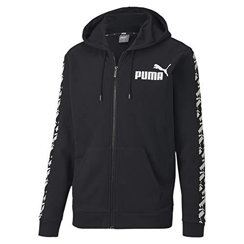 PUMA Herren Pullover Amplified Hooded Jacket TR, Black, S, 581396
