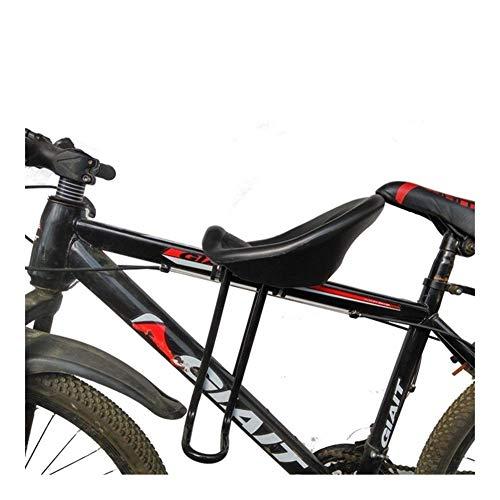 WYJW Asiento de Bicicleta para niños, Bicicleta de montaña, Asiento Delantero para niños, Parachoques Delantero de Bicicleta, Silla de bebé para Bicicleta de montaña, Asiento de bicicle