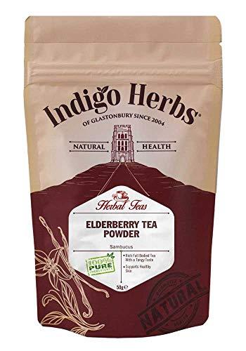 Indigo Herbs Té de Saúco en polvo 50g