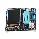NaiCasy Generador de señales Transistor Tester de componentes ESR Transistor GM328 Tester Digital con Pantalla LCD