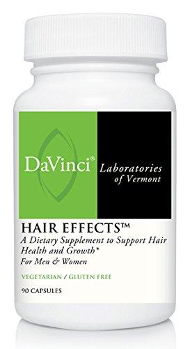 Davinci Laboratories – Hair Effects, Hair Growth Supplement with Biotin, Gluten-Free, 90 ct.