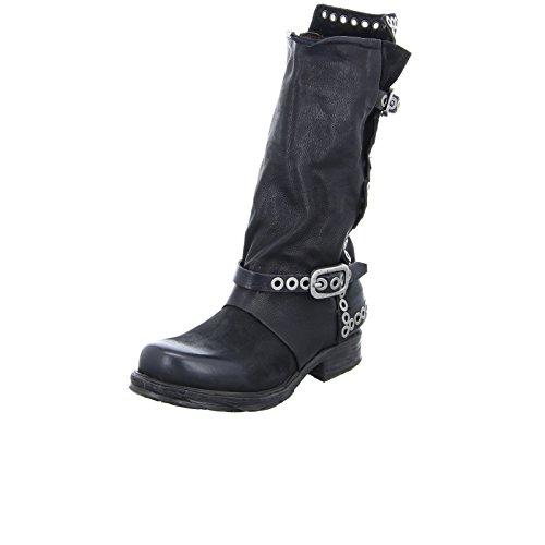 A.S.98 Damen Stiefel 259305 Leder Schwarz Größe 42 EU