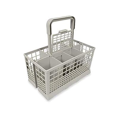 "Universal Dishwasher Cutlery Basket (9.45"" x 5.5""x 4.7"") fits Kenmore, Whirlpool, Bosch, Maytag, KitchenAid, Maytag, Samsung, GE, and more (Original Version)"