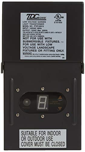 Moonrays 95432 Solar Electric Power Pack Low Voltage Outdoor Use with Light Sensor and Rain-Tight Case (200 Watt), 200-Watt, Black