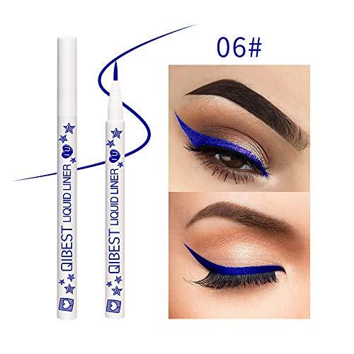 NWQEWDG Eyeliner Pen Maquillage Cosmétique Liquid Eye Liner Crayon Composent Outil (#6)