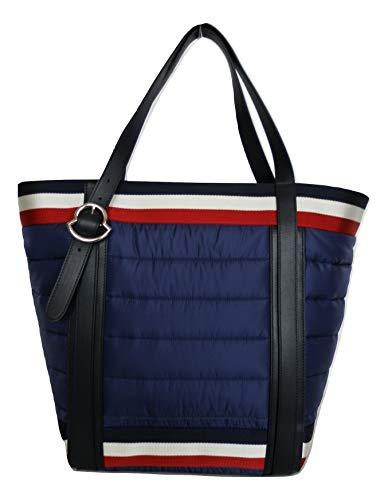 Moncler borsa shopping trapuntata mano spalla donna AMAGI 301380053048 blu