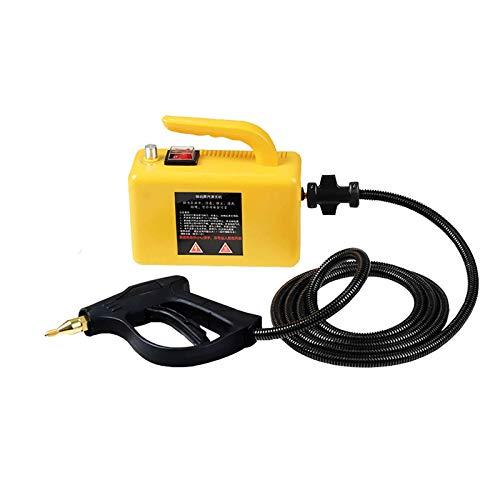 YUCHENGTECH Máquina de limpieza a vapor para el hogar Máquina de limpieza a vapor de cocina para utensilios de cocina/aire acondicionado/limpieza de sofás 2600W (amarillo)