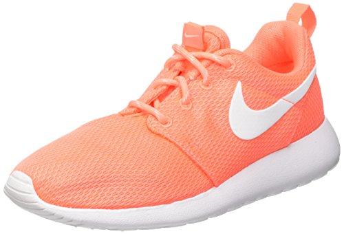 Nike Damen WMNS Roshe One Turnschuhe, Naranja (Bright Mango/White), 38 EU