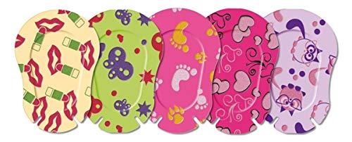 Ortopad Medium Girl MixSoft para niños de 2 a 4 años, caja de 50 unidades