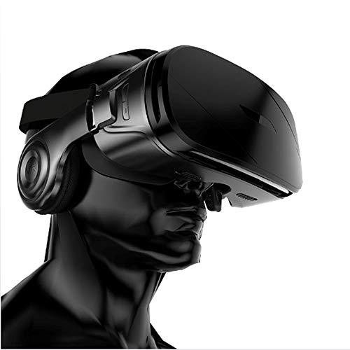 PGONE Smart VR Headset Panorámico Estéreo Gafas 3D Realidad Virtual Controlador de Auriculares 3D VR Goggles Boxfor TV Movies Video Games Compatible 4.5-6.2 Inch