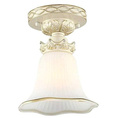 Zixin Weiß vorzügliche Fertigkeit Schnitzen Lacework Luxuriöse Deckenlampe, Wohnzimmer Schlafzimmer Esszimmer Atmosphärisch Kunst-Lampen-Beleuchtung