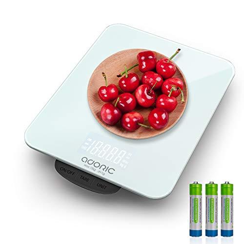 ADORIC Balance Cuisine Electronique Max 15kg Balance Cuisine...
