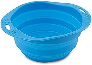 Beco Dog Travel Bowl (Large, Blue)