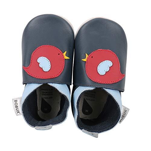 Bobux Krabbelschuhe Für Baby, Baby Schuhe, Baby Geschenk, Navy Bird, 30 EU