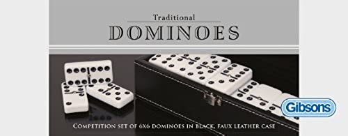 60% de descuento Gibsons Classic 6 x 6 Dominoes Set Set Set by Gibson  venta