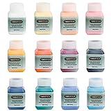 Timbertech - Set di colori acrilici per aerografia, 12 da 30 ml