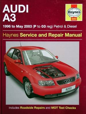 Audi A3 1996 To May 2003 Petrol & Dieselservice And Repair Manual Nr. 4253