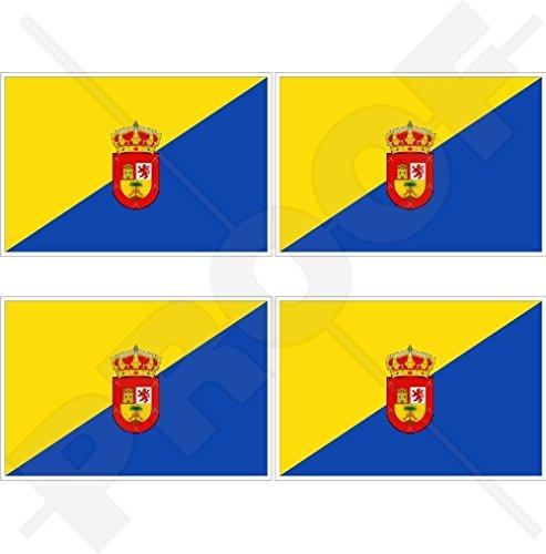 GRAN CANARIA Vlag CANARY EILANDEN Spanje, Islas Canarias, Spaans 2