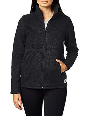 The North Face Women's Crescent Full-Zip, TNF Black Heather, S