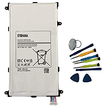 EFOHANA T4800U Tablet Battery Replacement for Samsung Galaxy Tab Pro 8.4  SM-T320 SM-T321 SM-T325 SM-T327A Series Notebook T4800E T4800C T4800K 3.8V 18.24Wh 4800mAh