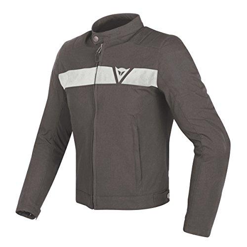 Dainese Original Stripes Tex Motorbike/Motorcycle Jacket Black & White 201735187–3 54 Schwarz & weiß