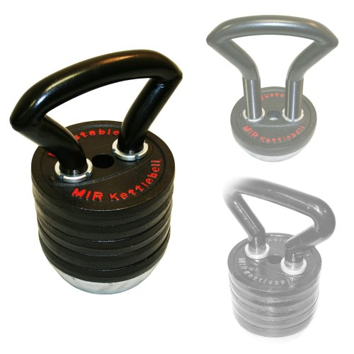 Mir - Pro 83lbs Adjustable Kettlebell( From 10lbs to 83lbs )